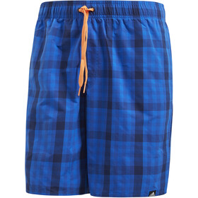adidas Check ML Shorts Men dark blue/hi-res orange